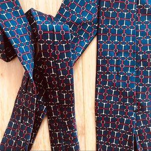 Silk Tie Interlocking Signature GUCCI Pattern